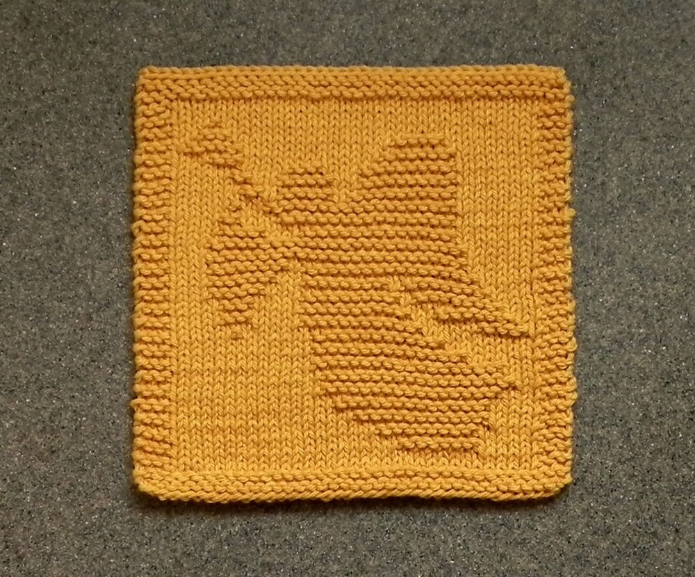 Unique Christmas Angel Knit Dishcloth Gold Hand by Auntsusanscloset Knitted Dishcloth Patterns for Christmas Of Adorable 43 Pics Knitted Dishcloth Patterns for Christmas