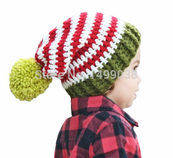 Unique Christmas Baby Beanie Red and White Striped Crochet Slouch Santa Hat Beanie Of Innovative 48 Photos Santa Hat Beanie