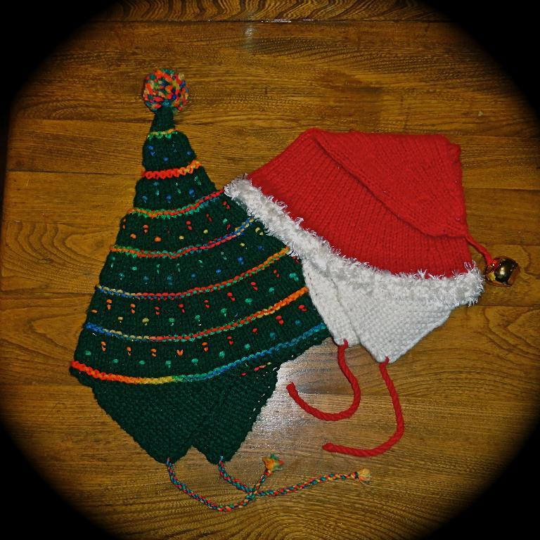 Unique Christmas Hats by Allwaysknitting Knitted Christmas Hats Of Adorable 50 Models Knitted Christmas Hats