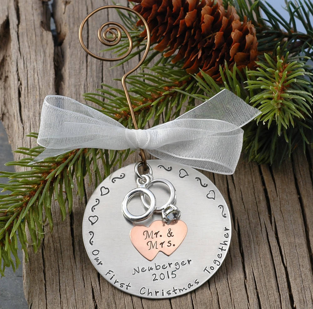 Unique Christmas ornaments Best Of Personalized Wedding Christmas ornament Our by Divinestampings Of Marvelous 47 Photos Unique Christmas ornaments