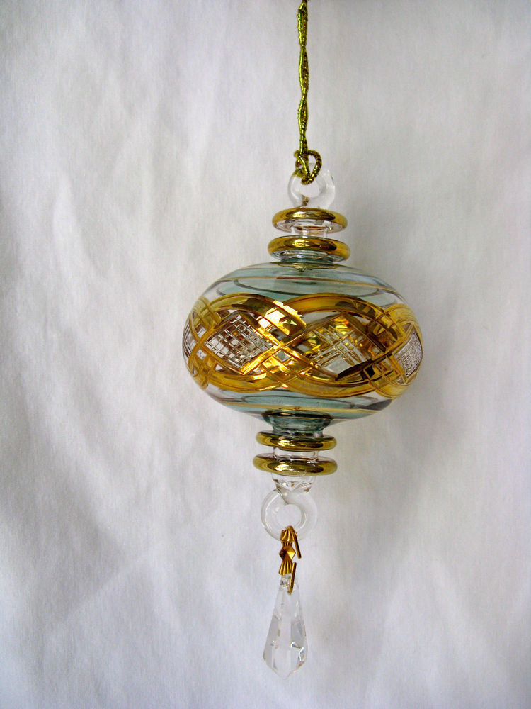 Unique Christmas ornaments Inspirational Egyptian Handmade Gold Accent Glass Christmas ornament 6 Of Marvelous 47 Photos Unique Christmas ornaments