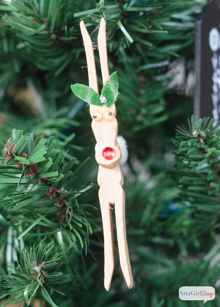 Unique Christmas ornaments to Make with Your Family Christmas Reindeer ornaments Of Adorable 44 Pictures Christmas Reindeer ornaments