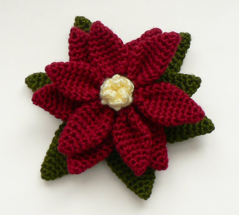 Unique Christmas Poinsettias to Crochet – Free Patterns Free Christmas Crochet Patterns Of Charming 49 Images Free Christmas Crochet Patterns