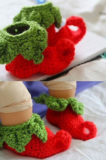 Unique Christmas Slippers Crochet Elf Slippers Of Luxury 41 Pictures Crochet Elf Slippers