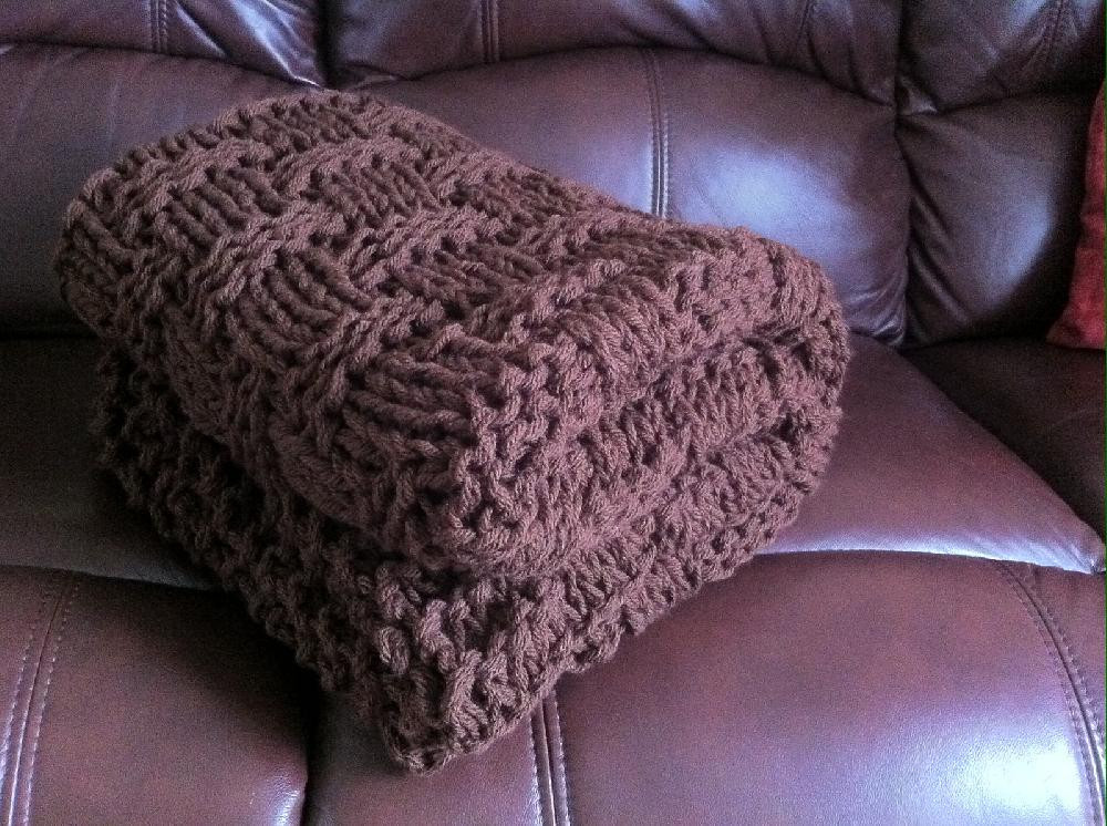 Unique Chunky Basket Weave Blanket Throw Knitting Pattern by Basket Weave Blanket Pattern Free Of Top 41 Pictures Basket Weave Blanket Pattern Free