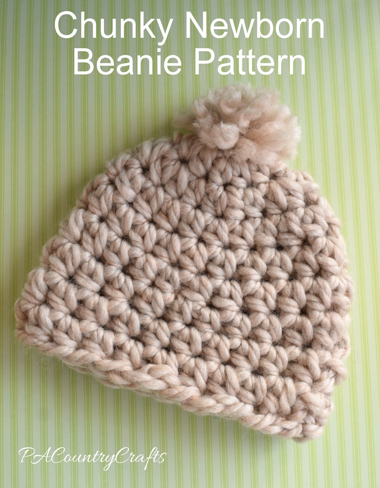 Unique Chunky Newborn Beanie Pattern Chunky Yarn Crochet Of Innovative 43 Photos Chunky Yarn Crochet