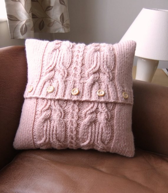 Unique Chunky Pink Cable Knit Pillow Cushion Cover Cable Knit Pillow Cover Of Top 41 Pictures Cable Knit Pillow Cover