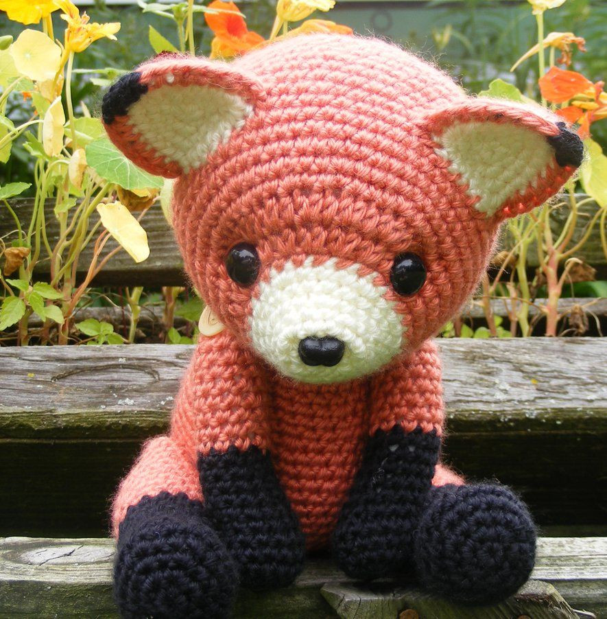 Unique Cinnabar the Fox Amigurumi by Crowchet No Pattern Crochet Stuff Of Incredible 42 Pictures Crochet Stuff