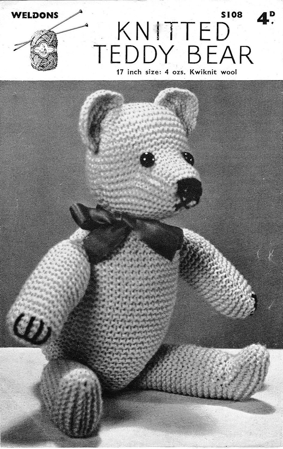 Unique Classic Teddy Bear Knitting Pattern 1940s Vintage Pattern Pdf Teddy Bear Knitting Pattern Of Perfect 48 Ideas Teddy Bear Knitting Pattern