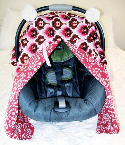 Unique Closet Crafter Car Seat Canopy with Peek A Boo Tutorial Seat Cover Pattern Of Superb 46 Photos Seat Cover Pattern