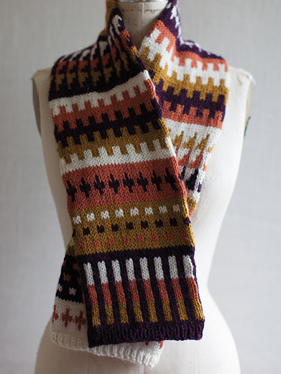 Unique Colorful Scarf Knitting Patterns Fair isle Scarf Of New 40 Pics Fair isle Scarf