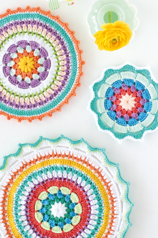 Unique Colourful Crochet Mandala Patterns Mollie Makes Mandala Crochet Patterns Of Beautiful 48 Pictures Mandala Crochet Patterns