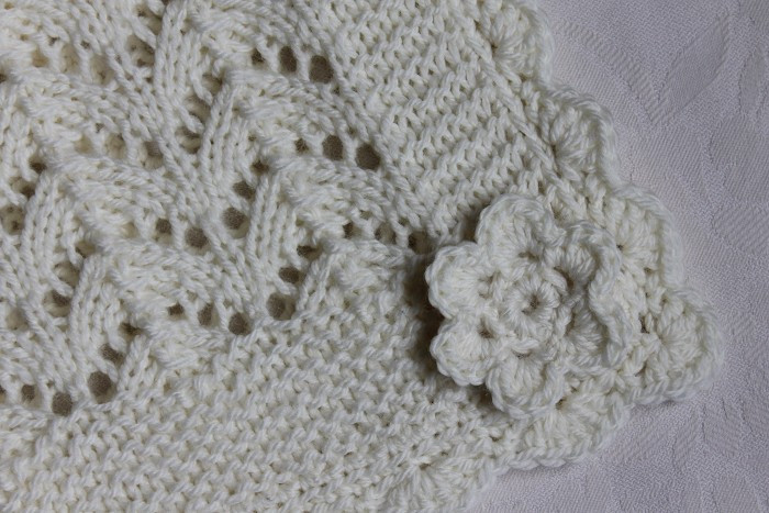 Unique Cream Hand Knitted Baby Blanket with Crocheted Edge Ready Hand Crochet Baby Blanket Of Incredible 49 Pictures Hand Crochet Baby Blanket