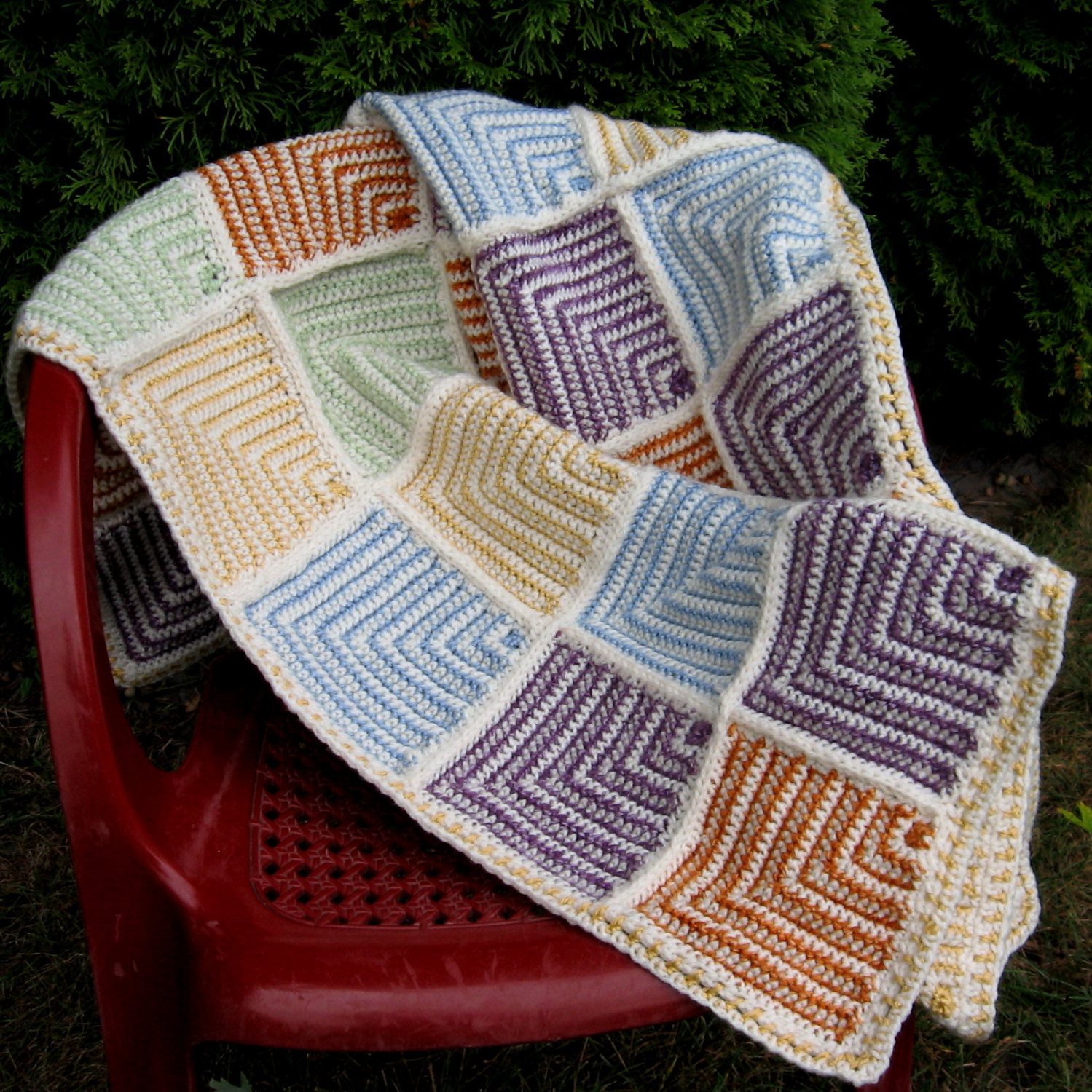 Unique Crochet Afghan Pattern Mitered Squares Crochet Blanket Kids Afghan Squares Of Perfect 50 Ideas Afghan Squares