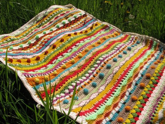 Unique Crochet Afghan Patterns Beautiful Afghan Crochet Baby Blanket with Bubbles Spring Colorful Of Brilliant 48 Images Unique Crochet Afghan Patterns