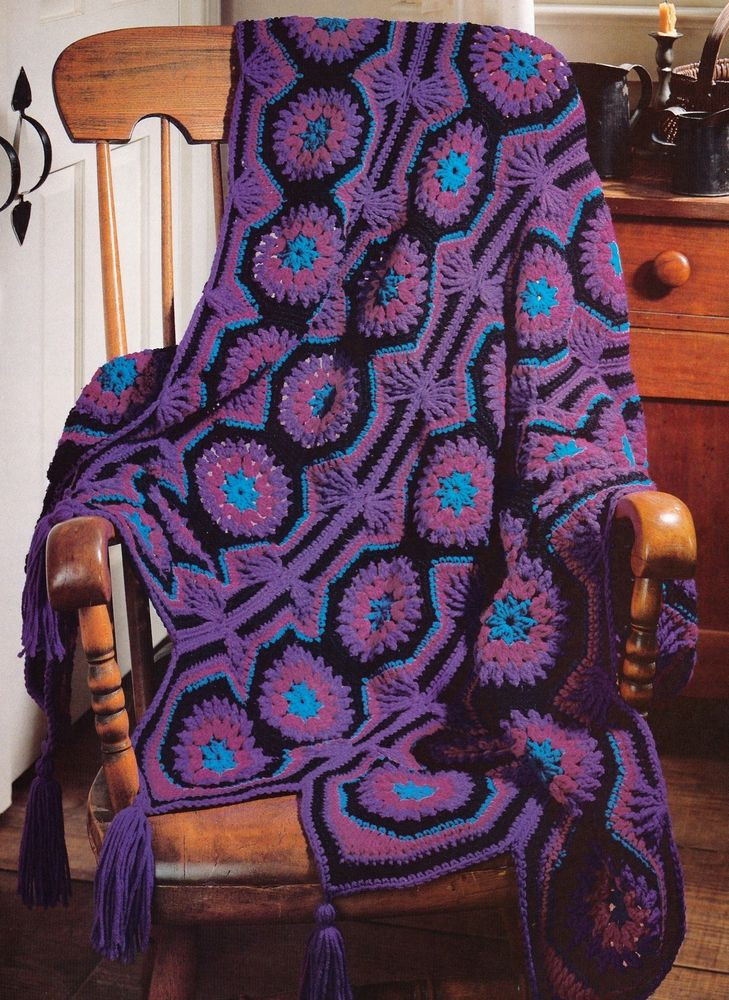 Unique Crochet Afghan Patterns Inspirational Unusual Radiant Mosaic Afghan Crochet Pattern Instructions Of Brilliant 48 Images Unique Crochet Afghan Patterns