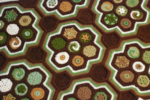 Unique Crochet Afghan Patterns New Hexaghan Unique Crocheted Afghan Pattern Fun to Make Of Brilliant 48 Images Unique Crochet Afghan Patterns