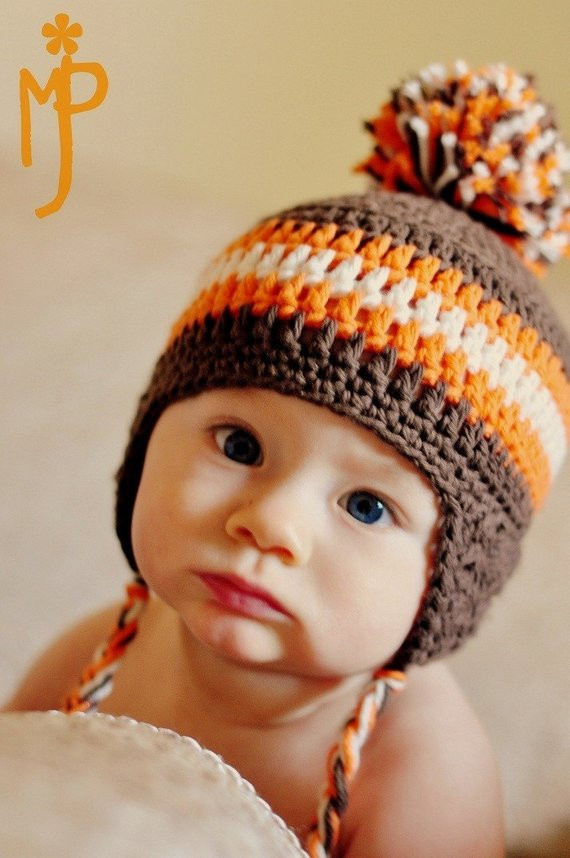 Unique Crochet Baby Ear Flap Hat with Tassels Custom You Choose Baby Hat with Ear Flaps Of Perfect 41 Pics Baby Hat with Ear Flaps