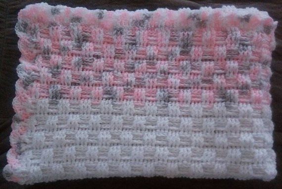 Unique Crochet Basket Weave Baby Blanket by Brendascraftpatterns Basket Weave Blanket Of Amazing 45 Models Basket Weave Blanket