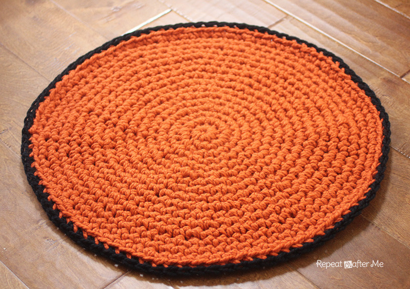 Unique Crochet Basketball Rug Repeat Crafter Me Free Crochet Rug Patterns Of Delightful 48 Pics Free Crochet Rug Patterns