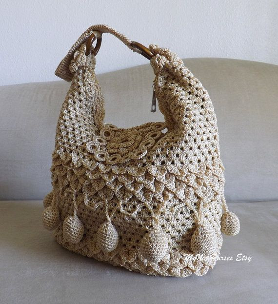 Unique Crochet Beige Summer Bohemian Style Shoulder Bag Crochet Crochet Hobo Bag Of Adorable 47 Pictures Crochet Hobo Bag
