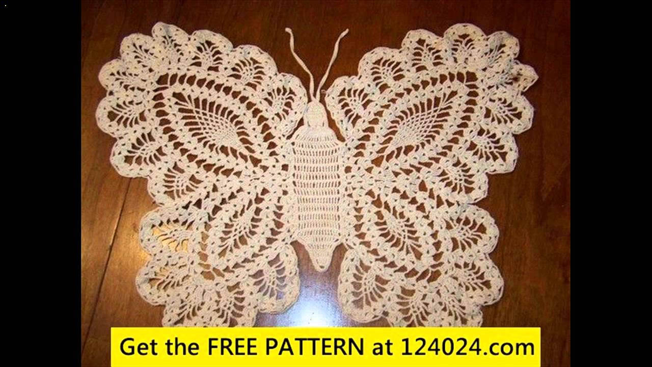 Unique Crochet butterfly Free Patterns Youtube Free Crochet Patterns Of Unique 42 Models Youtube Free Crochet Patterns