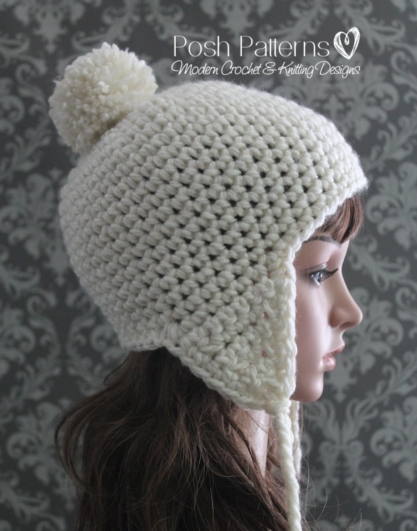 crochet earflap hat pattern crochet hat pattern 0