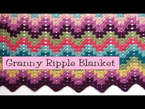 Unique Crochet for Knitters Granny Ripple Blanket Youtube Crochet Afghan Patterns Of Adorable 41 Ideas Youtube Crochet Afghan Patterns