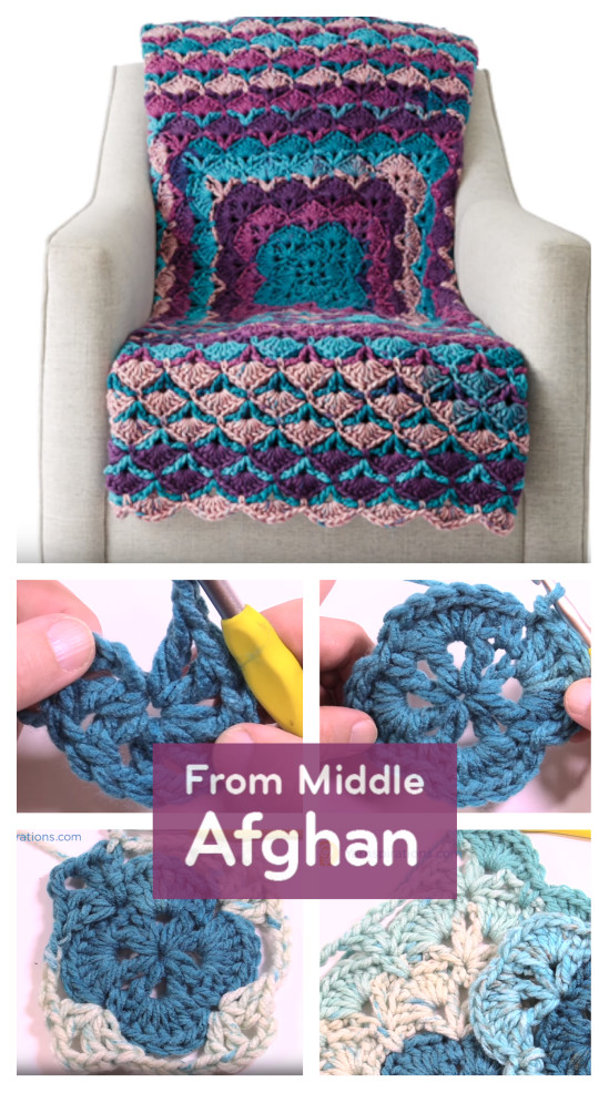 Unique Crochet From the Middle Afghan Free Crochet Patterns Caron Chunky Cakes Of Amazing 43 Pictures Caron Chunky Cakes