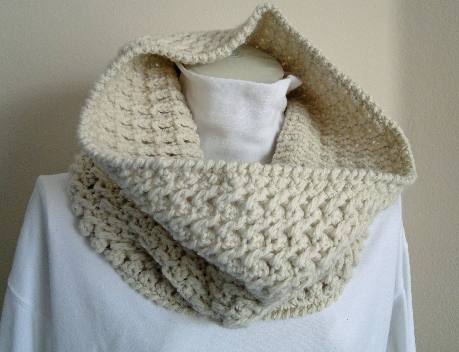 Unique Crochet Grey Scarf Neck Warmer Cowl Scarf From Levintovich Crochet Cowl Neck Scarf Of Superb 49 Models Crochet Cowl Neck Scarf