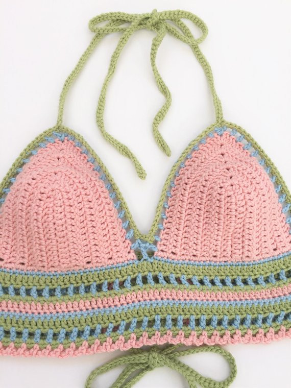 crochet halter top pattern festival