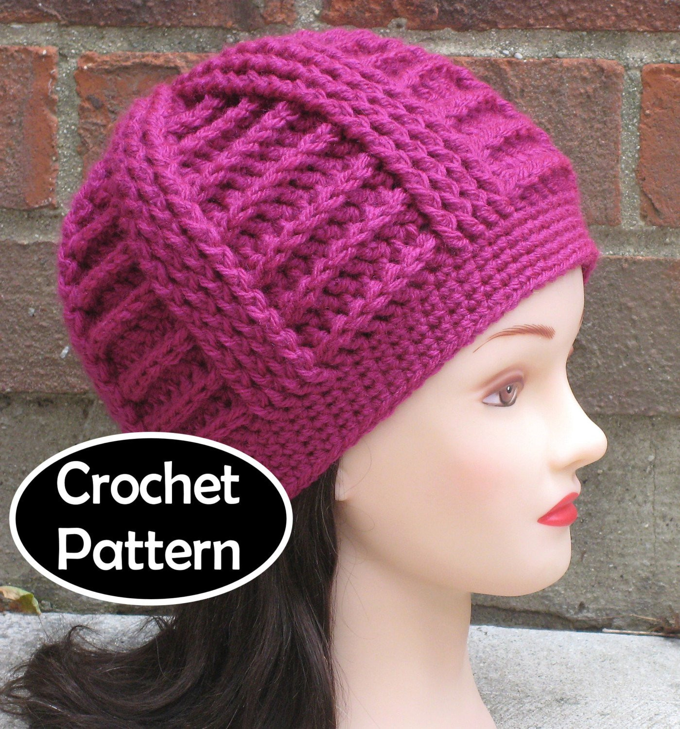 Unique Crochet Hat Pattern Instant Download Bailey Textured Beanie Easy Crochet Beanie Pattern Of Awesome A Variety Of Free Crochet Hat Patterns for Making Hats Easy Crochet Beanie Pattern