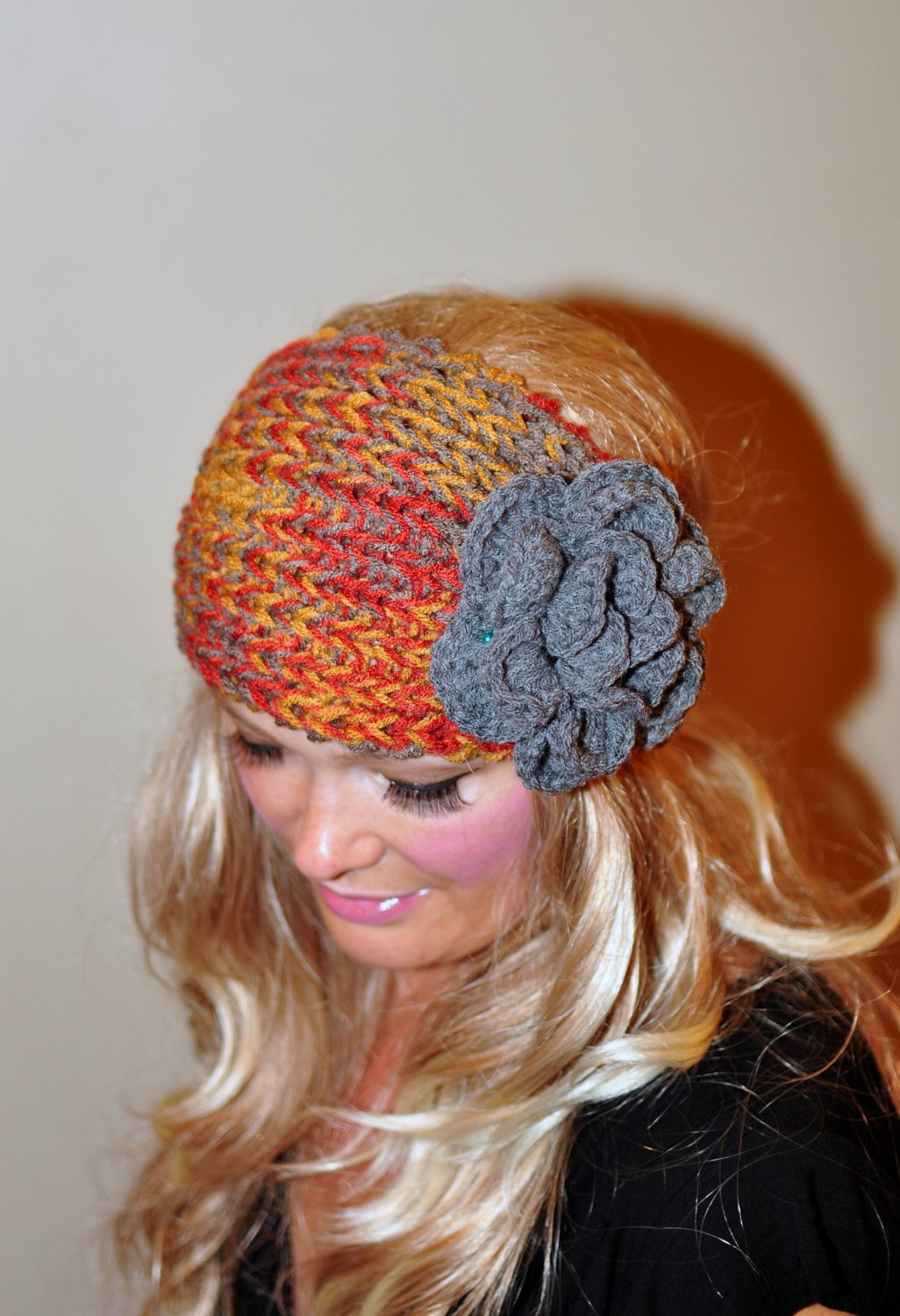 Crochet HEADBAND Ear warmer head wrap Earwarmer CHOOSE COLOR