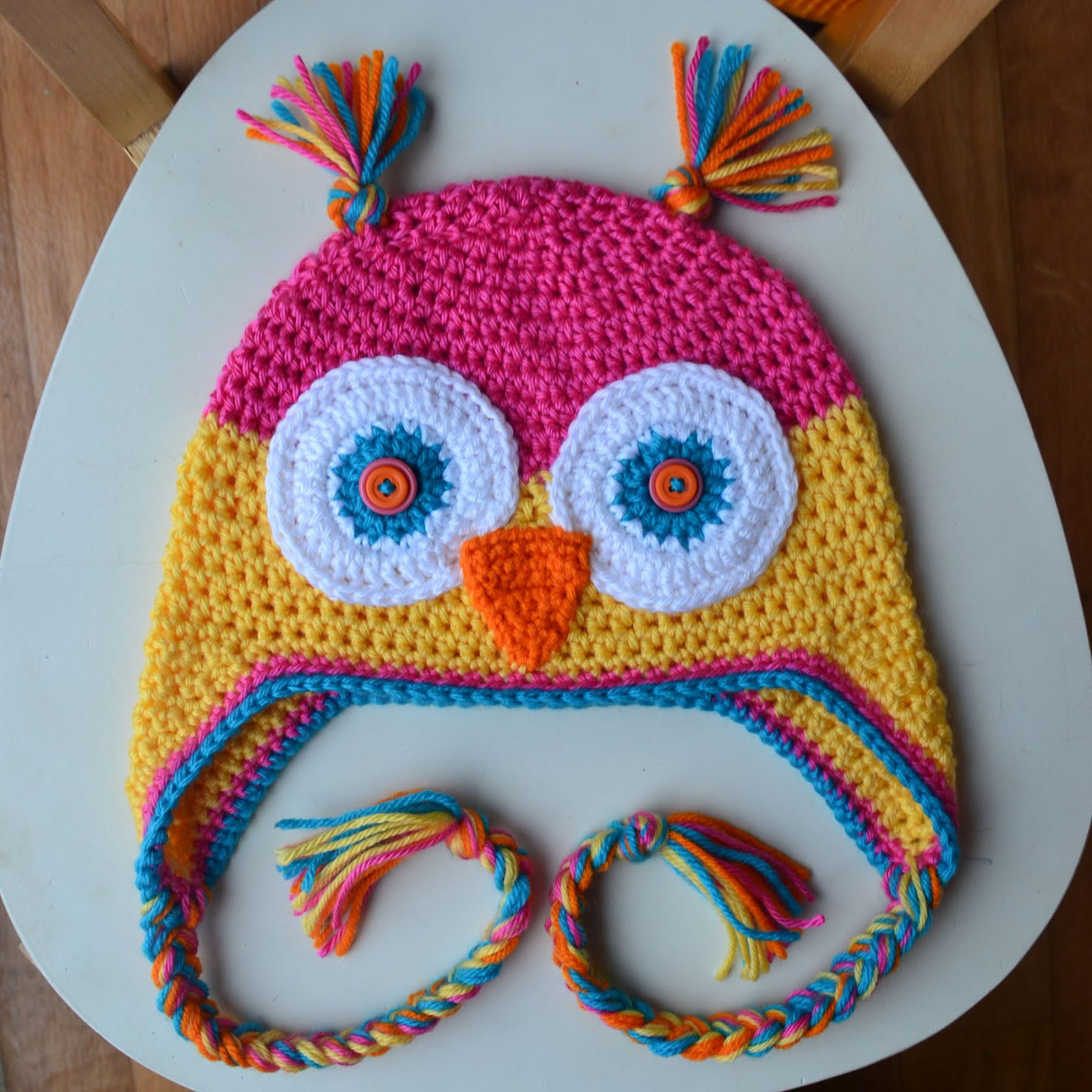Unique Crochet In Color Another Owl Hat Crochet Owl Hat Of Marvelous 48 Images Crochet Owl Hat