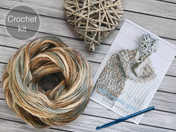 Unique Crochet Kit Irregular Yarn Crochet Scarf Beginner Beginners Crochet Kit Of Amazing 49 Photos Beginners Crochet Kit