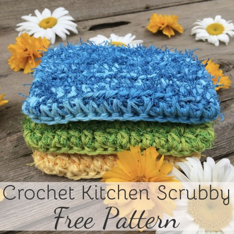 Unique Crochet Kitchen Scrubby Pattern Quick and Easy Pattern Scrubby Yarn Patterns Of Adorable 47 Images Scrubby Yarn Patterns
