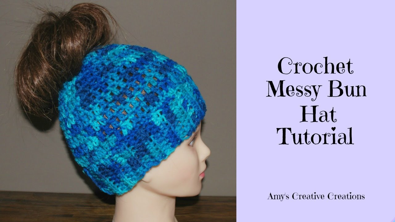 Unique Crochet Messy Bun Hat Tutorial Crochet Jewel Youtube Crochet Videos Of Lovely 45 Images Youtube Crochet Videos