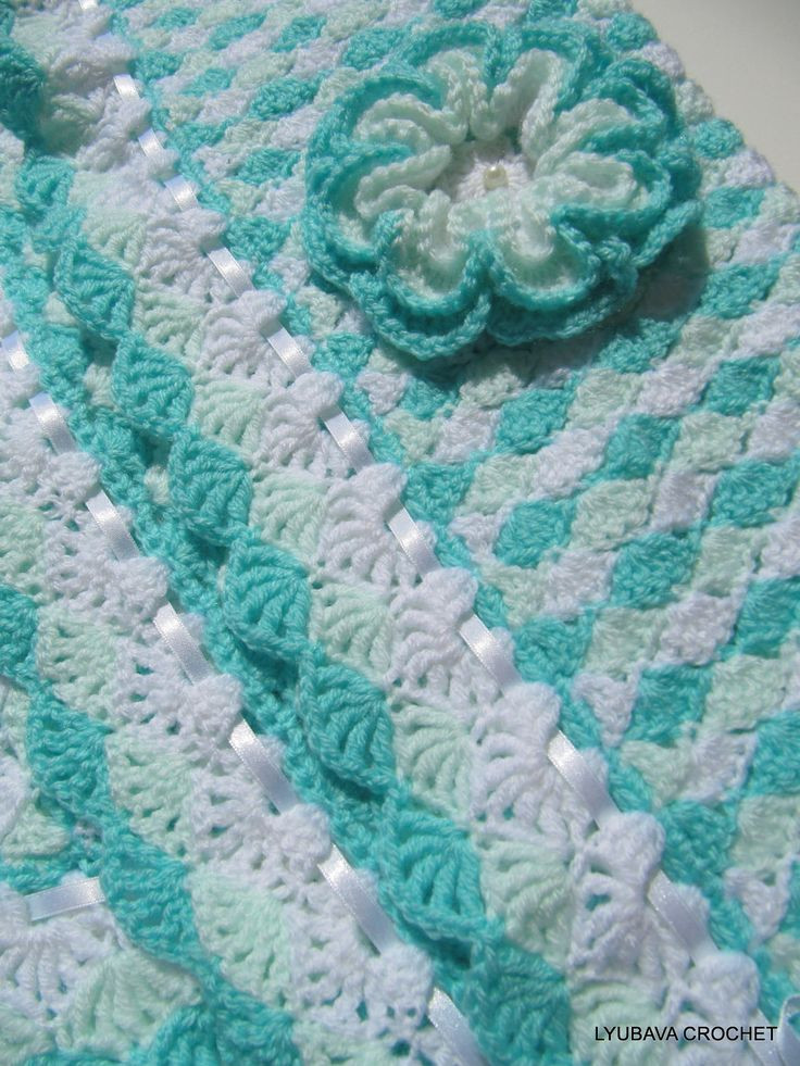 Unique Crochet Pattern Baby Blanket Turquoise Sea Shell Baby Crochet Shell Blanket Of Lovely 40 Pictures Crochet Shell Blanket