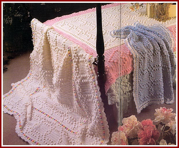 Crochet Pattern For Wedding Blanket Dancox for