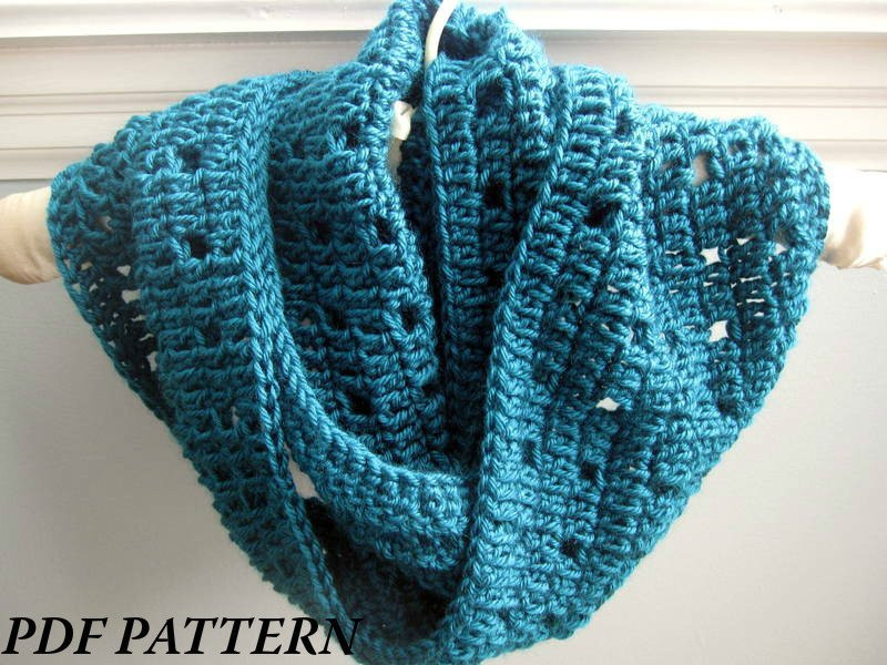 Unique Crochet Pattern Pdf Easy Crochet Cowl Infinity Scarf Infinity Cowl Crochet Pattern Of Awesome 49 Pics Infinity Cowl Crochet Pattern