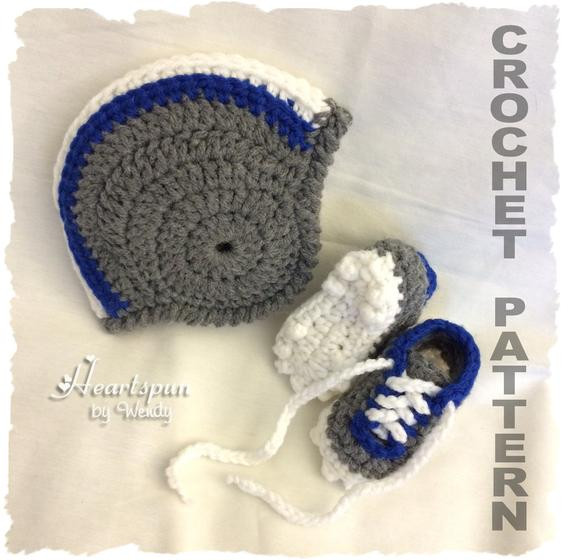 Unique Crochet Pattern to Make A Football Helmet Baby Hat with Crochet Football Helmets Of Best Of Breezybot Free Pattern Baby Crochet Football Helmet Crochet Football Helmets