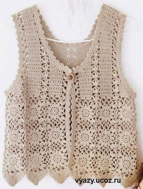 Unique Crochet Patterns to Try Free Crochet Charts and Vintage Crochet Vest Pattern Of Top 48 Images Vintage Crochet Vest Pattern
