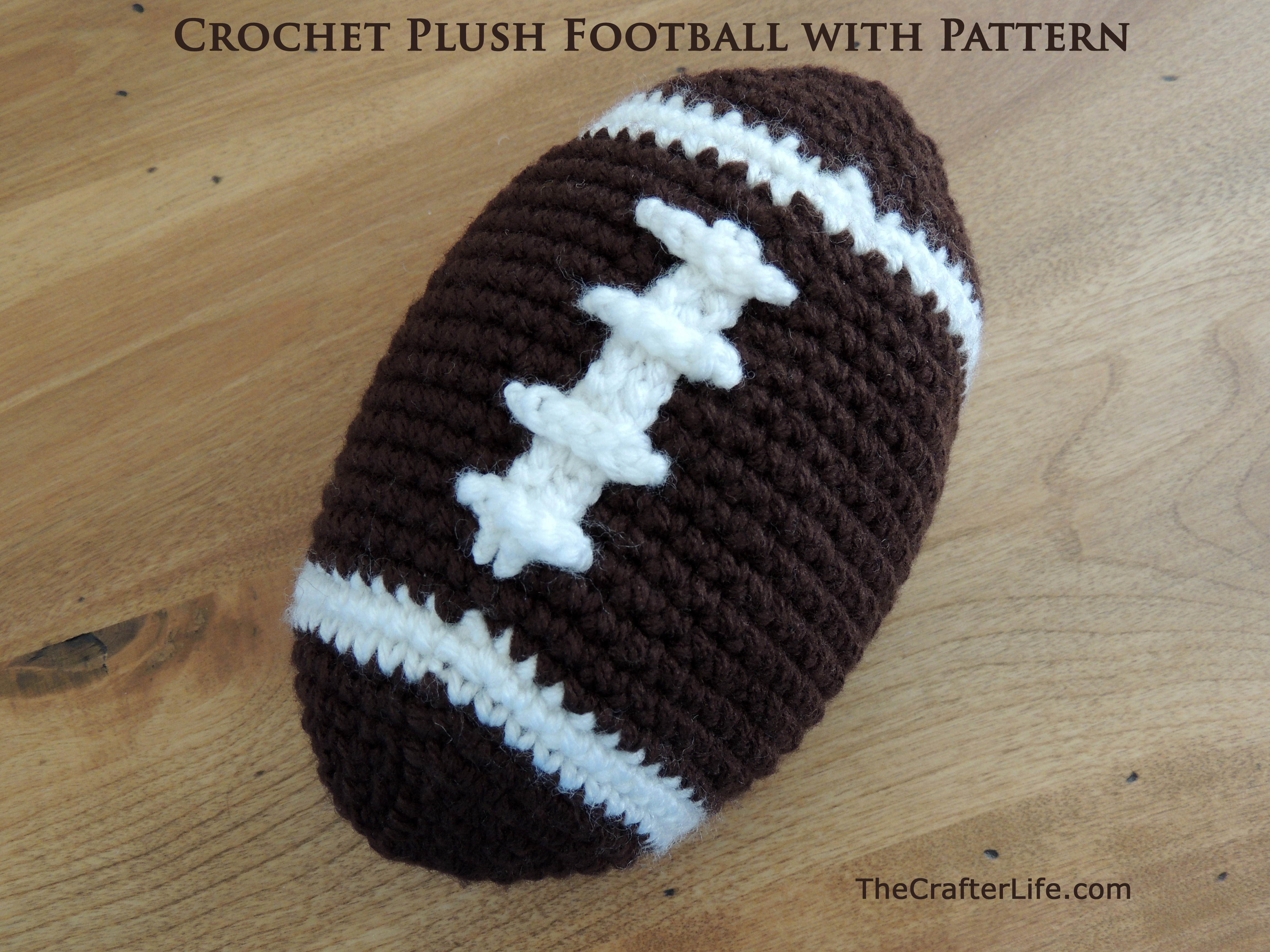 Unique Crochet Plush Football with Pattern the Crafter Life Crochet Stuff Of Incredible 42 Pictures Crochet Stuff