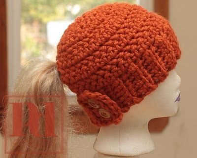 Unique Crochet Ponytail Hole Hat – Ly New Crochet Patterns Ponytail Hats Free Patterns Of Incredible 42 Ideas Ponytail Hats Free Patterns