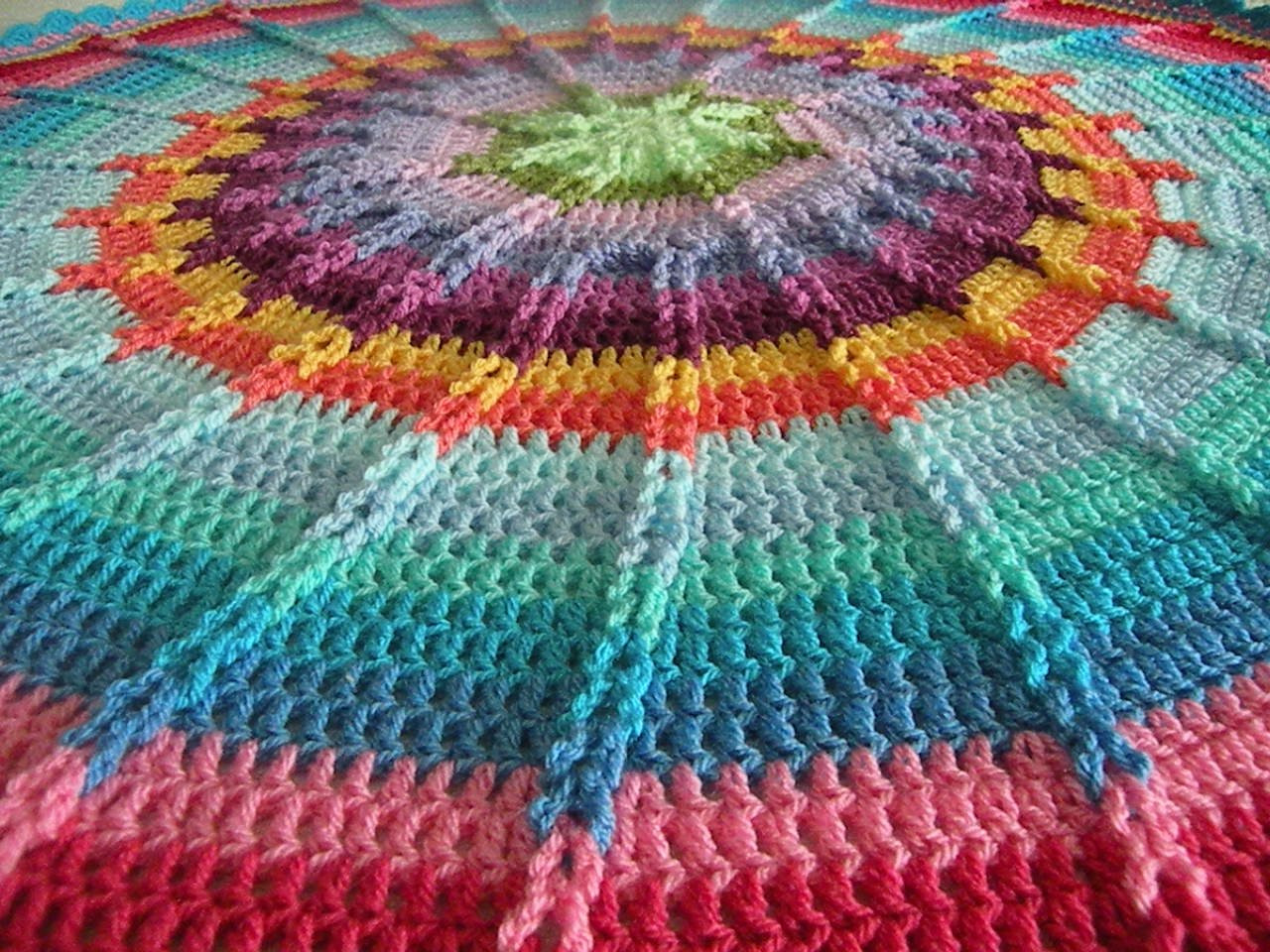 Unique Crochet Round Jacob S Ladder Afghan Lucy Colors Baby Round Crochet Blanket Pattern Of Wonderful 41 Models Round Crochet Blanket Pattern