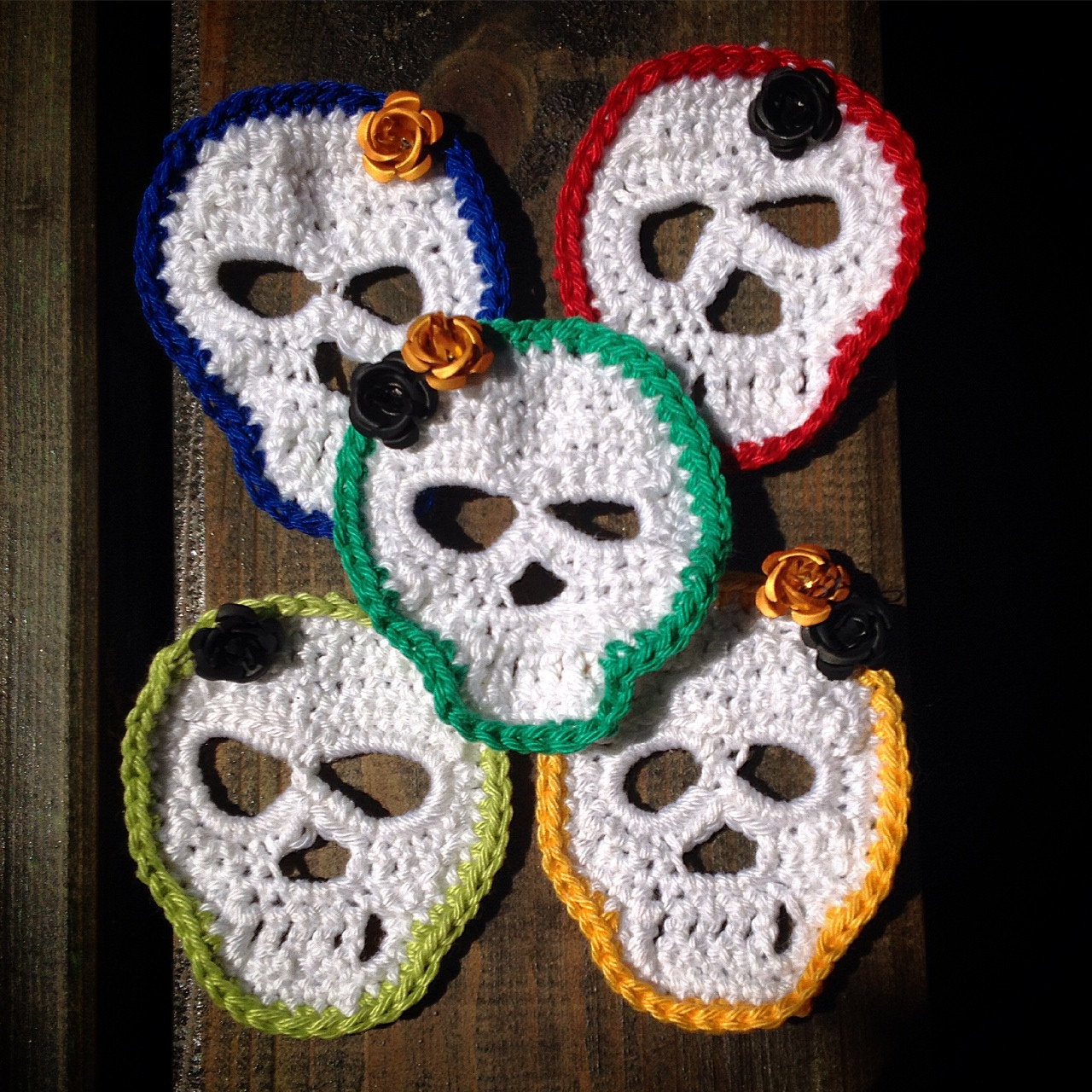 Unique Crochet Sugar Skull Garland Crochet Sugar Skull Of Incredible 47 Pictures Crochet Sugar Skull