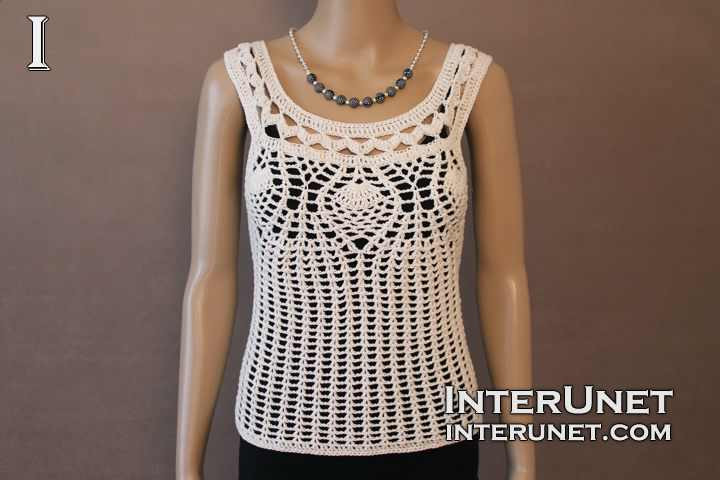 Unique Crochet Summer tops Free Patterns Knit and Crochet Daily Crochet Tank top Pattern Of Top 50 Images Crochet Tank top Pattern