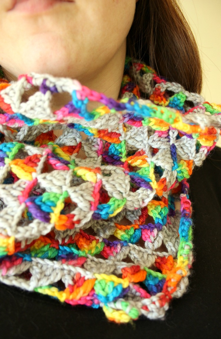 Unique Crochet Triangle Infinity Scarf – Zeens and Roger Crochet Triangles Of Charming 42 Images Crochet Triangles