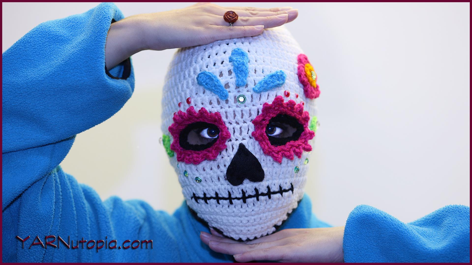 Unique Crochet Tutorial Sugar Skull Ski Mask Yarnutopia by Crochet Sugar Skull Of Incredible 47 Pictures Crochet Sugar Skull