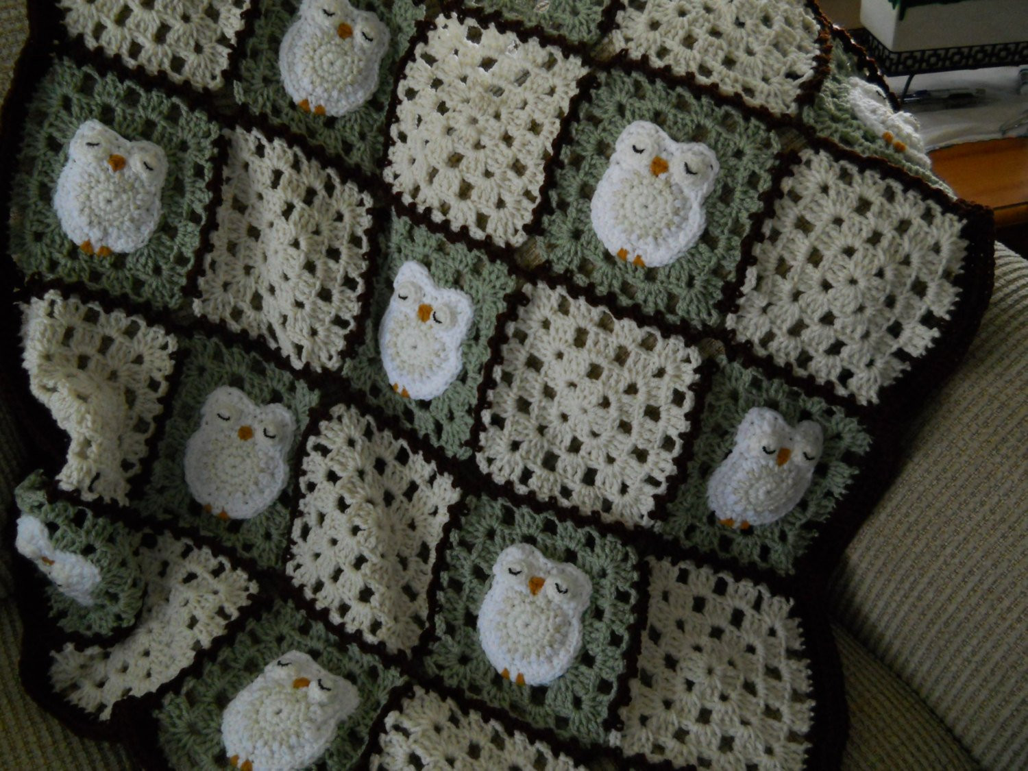 Unique Crocheted Blanket Snowy Owl Baby Shower T Owl themed Crochet Owl Baby Blanket Of Brilliant 48 Ideas Crochet Owl Baby Blanket